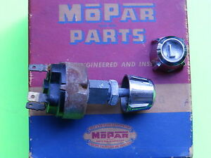 1957 1958 Dodge Switch 2 Knobs L Oem Mopar 176973 Two Position Rotary