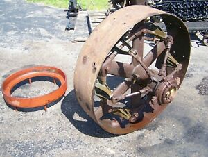 Old Fairbanks Morse 36 Clutch Pulley For N Nb Y Hit Miss Gas Engine Tractor Wow