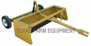 6 Pull type Scraper Road Grader planer Leveler Box Blade Dirt Earth Mover