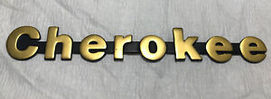1987 1992 Jeep Cherokee gold front Fender tailgate Emblem