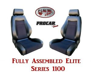Procar Full Bucket Seats 80 1100 71 Elite For 1973 1982 Ford F Series Trucks