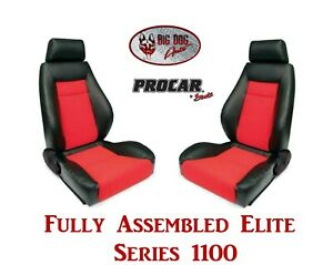 Procar Full Bucket Seats 80 1100 90 Elite For 1973 1982 Ford F Series Trucks
