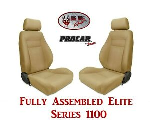 Procar Full Bucket Seats 80 1100 67 Elite For 1973 1982 Ford F Series Trucks