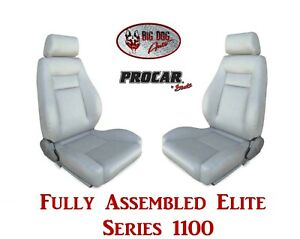Procar Full Bucket Seats 80 1100 52 Elite For 1973 1982 Ford F Series Trucks