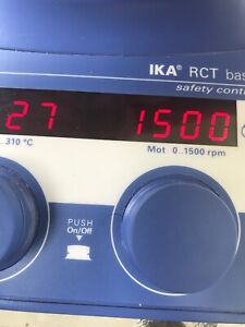 Ika Works 3810001 Rct Basic Safety Magnetic Stirrer With Heating