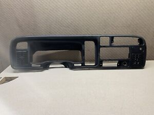94 97 Dodge Ram 1500 2500 3500 Dash Instrument Cluster Radio Trim Bezel Panel