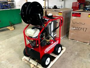 New 2021 Easy kleen Magnum 4000 Series Hot Water Pressure Washer Burner Diesel