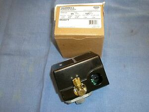 Furnas hubbell 69jg7y Air Compressor Pressure Switch 95 125psi Old 69mb7y
