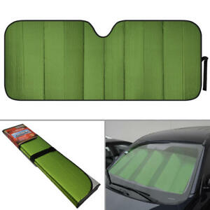 Motor Trend Car Cooling Auto Sun Shades Green Jumbo Size For Truck Vans Suvs