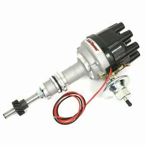 Pertronix D134600 Flame Thrower Stock Look Cast Distributor