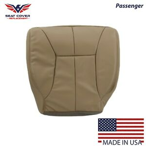 1998 To 2002 Dodge Ram 1500 2500 3500 Bottom Synthetic Leather Seat Cover Tan