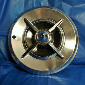One 14 Lancer Style Aftermarket Accessory Hubcap W Bullet Center Hot Rod Rat