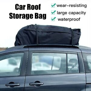 51 X40 X12 Waterproof Car Roof Top Bag Travel Storage Cargo Carrier Luggage