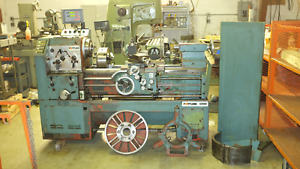 Fortune Victor S2040 Engine Lathe 20 Swing Digital Readout Aloris Steady Nice