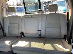 2008 Ford F250 F350 Super Duty Leather Rear Bench Seats Beige In Color