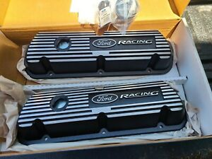 Ford Racing Performance 289 302 351w Black Aluminum Valve Covers M 6582 A301r