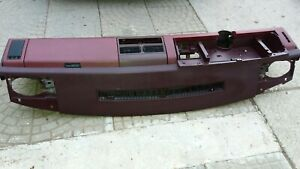 1988 1994 Gmc Chevy Truck Dash Frame Core Mount Deck Assembly Unit Red