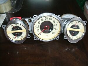 1936 1938 1939 Chevy Truck Gauges Speedometer 12 Vots Ready