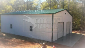 Steel building metal garage 30x50x12 Free Delivery And Install 16 375