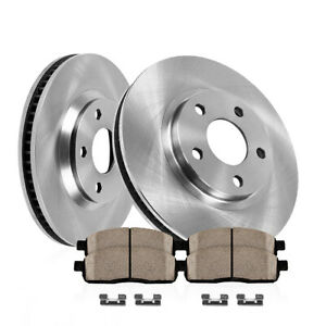 For 2002 2003 2004 2005 Explorer Mountaineer Front Rotors And Ceramic Pads