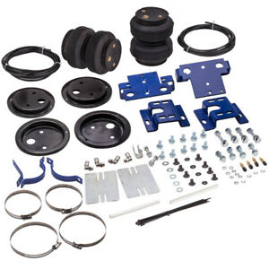 Rear Air Spring Suspension Level Kit Fit Silverado Sierra 2500 Hd 3500 01 10