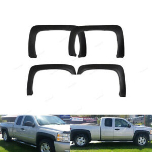 Fender Flares For 07 13 Silverado 1500 Standard Cab Extended Cab Factory Style