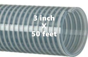 50 Ft Roll Of 3 Inch Kanaflex 112 Cl 3 Water Suction Hose Clear Pvc