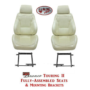 Standard Touring Ii Seats Brackets For 1975 77 Ford Bronco S Any Color