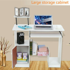 Home Desktop Computer Desk With Lockers Home Small Desk Dormitory Study Table Us