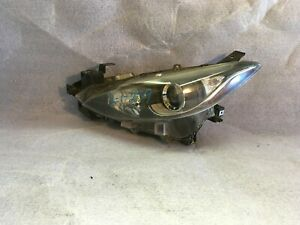2004 2005 2006 Mazda 3 Left Headlight