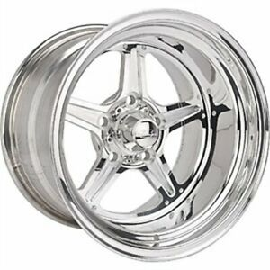 Billet Specialties Rs035107345n Street Lite Polished Wheel Size 15 X 10 Bolt Pa