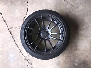 Abs Rims Black 17 In With Tires