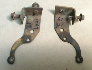 1961 1962 1963 Other Ford Thunderbird Hi Low Horn Mounting Brackets Only Oem