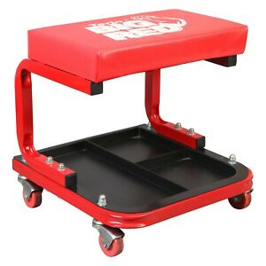 Big Red Crepper Shop Seat With Tool Tray tools Not Included