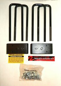 Rough Country 2 5 Front Leveling Kit Parts 2007 2018 Chevy gmc 1500 Pickup 1305