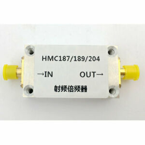 Rf Frequency Multiplier Frequency Doubler With Shell 0 87 2ghz 2 4ghz 4 8ghz