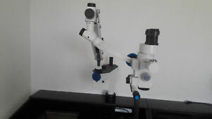 3 Step Plastic Surgical Operating Microscope Multidisciplinary Led Illumination