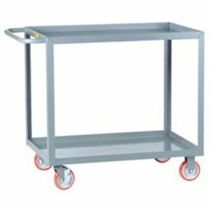 Little Giant All Welded Service Cart 2 Lip Shelves 32 l X 18 w X 35 h