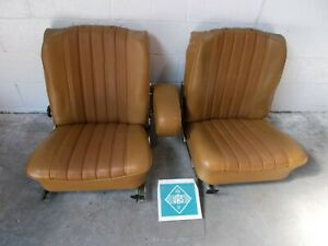 1973 Mercedes Benz 280c Coupe W114 Front Seats Left Right Driver Passenger