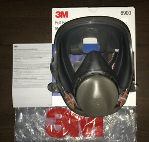 3m Respirator Full Face 6900 Large Opened Box