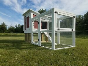 4 6 Hen Chicken Coop Handmade In The U s a