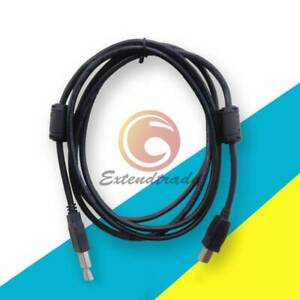 Amsamotion Usb cp1h Programming Cable Black For Omron Cp1h cp1e cp1l Plc Cable