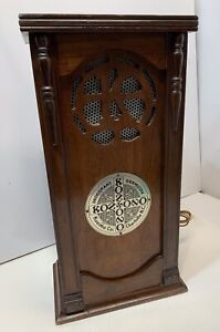Antique Medical Germicidal 1920s Wood Cabinet Kozono Co Charlotte Nc