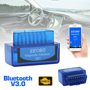 Elm327 Obd2 Code Reader Scanner V3 0 Bluetooth Diagnostic Interface Fit Android