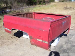 85 Chevrolet Truck C10 Square Body Short Wide Bed Box Chevy Local Pick Up Only