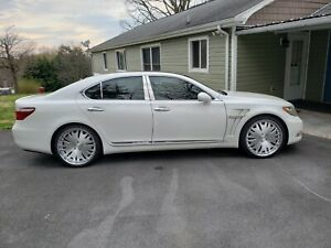 donz Gotti Wheels For A Lexus Ls460 22x9 For The Front And 22x10 5 For The Ba