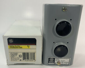 General Electric Cr2943 Aa102b Start Stop 2 Button Switch Control Station New