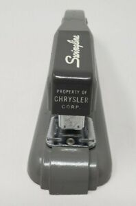 Vintage Swingline Rare Stapler Property Of Chrysler Corp
