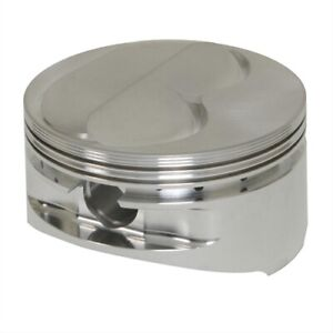 Je Pistons 182027 1l Forged Dome Top Pistons Small Block Chevy 400 Bore 4 155 In