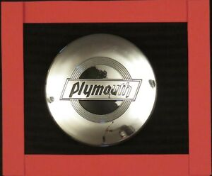 34 Plymouth Vintage Hubcap